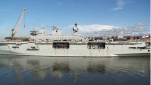 HMS Ocean will visit Sunderland for a final farewell