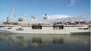 HMS Ocean will visit Sunderland for its final farewell