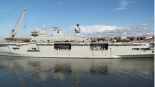 HMS Ocean will visit Sunderland for a final farewell