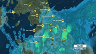 Rain develops from the southwest - widespread & prolonged, heavy & possibly thundery