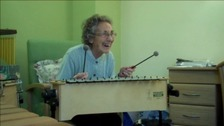 Music therapy can help dementia sufferers.
