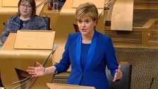 Sturgeon: Scottish Government to put second referendum on hold