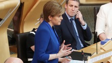 Sturgeon: Plans for second Scottish independence referendum on hold
