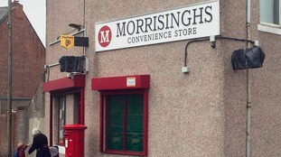 Store owner Jel Singh Nagra changed the name of his shop to Morrisinghs after a legal threat from Sainsbury's