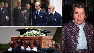 Royals attend funeral of Countess Mountbatten of Burma