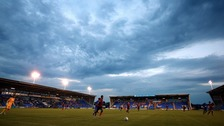 Shrewsbury town's Greenhous Meadow could be the first English ground to introduce a safe standing section