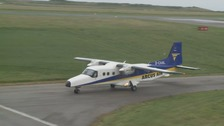 The replacement Dornier 228 arrived from Germany earlier today.