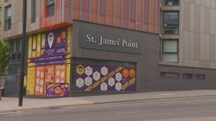 Cladding used at Grenfell was also used at St James' Point