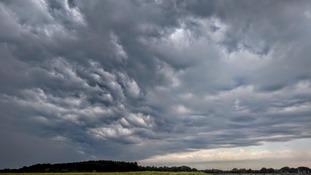 Anglia Weather: Heavy rain gradually moves away northwards