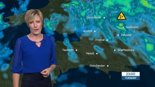 Unsettled weather over the next few days