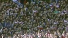 Crowd pictures at Hillsborough