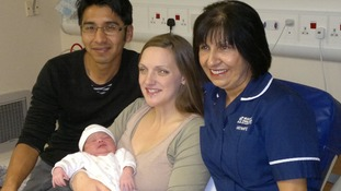 Baby Seren was born today on 12/12/12