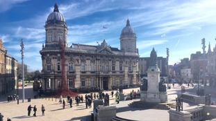Weeping Window was installed at Hull's Maritime Museum