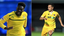 Blair Turgott (left) and Joe Martin (right) have joined Stevenage.