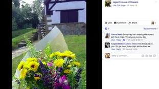 Kind florist leaves bouquets around town to brighten people's day