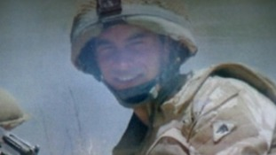 Aaron Black serving with Black Watch in Afghanistan