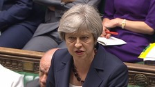Theresa May in first PMQs since election