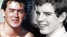 Steven Brown (L) and John McBrien (R) were among the 96 Liverpool fans who died at Hillsborough