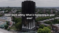 Tower block safety: What is happening in your area?