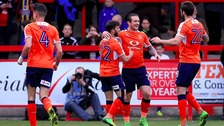 Jack Marriott has scored goals regularly for Luton Town.