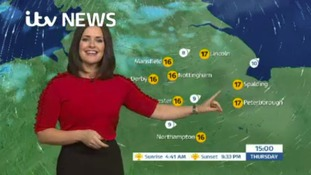 East Midlands Weather: Further periods of light rain