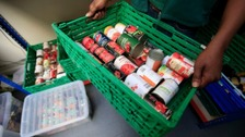 Foodbank users increase across Cumbria