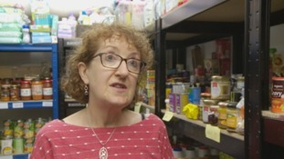 Linda Sutherland, King's Food Bank Manager