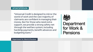 Department of Work & Pensions statement