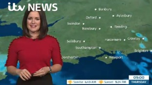Thursday's forecast for west of region