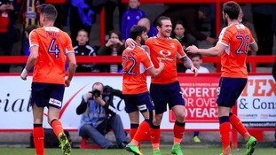 Peterborough secure signing of Luton Town striker