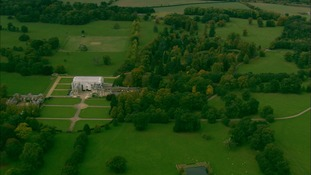 Althorp House, Princess Diana's family home.