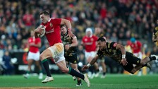 Injured North ruled out of Lions tour