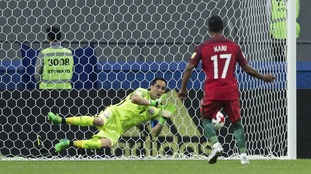 Chile beat Portugal in penalty shootout to reach the final of the Confederations Cup.