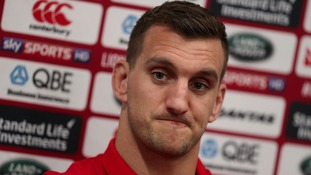 Sam Warburton is the captain of the British and Irish Lions.