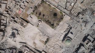 Iraqi forces 'take control of Mosul's landmark al-Nuri Mosque compound'