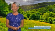 Wales weather: West not best today!