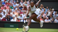 Serena Williams won Wimbledon in 2016.