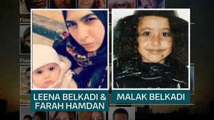 Six-month-old Leena Belkadi was found dead in her mother's arms.