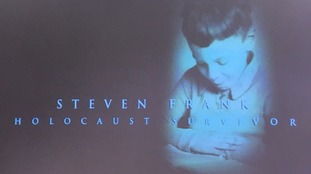 Steven Frank has been speaking to school children at the National Holocaust Centre in Newark
