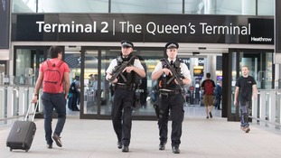 Woman, 21, arrested at Heathrow over 'Syria related' terror offences