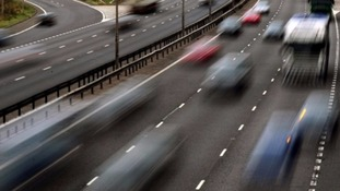 Lane closed M62 Eastbound due to accident