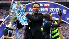 Wagner lead Huddersfield to the Premier League for the first time in 45 years