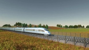 Image of what HS2 could look like