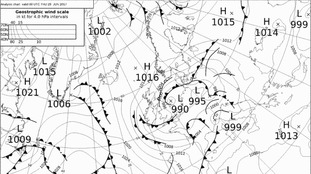 Low pressure and fronts have lingered for much of this week