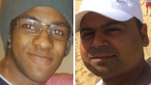 Gustavo Silva Da Cruz, left, and Mohit Dupar died at Camber on July 24.