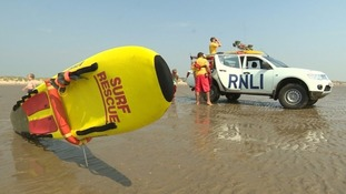 Lifeguards began special patrols at Camber Sands in the wake of the death of the five friends.