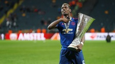 Pogba won two trophies on his return to United.