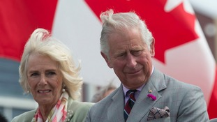 Charles and Camilla are representing the Queen on a tour of Canada.