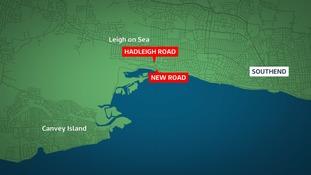 Fatal crash at Leigh on Sea near Southend.