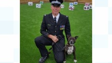 Roxy and PC Lee Webb